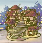 fantasy town by angychan
