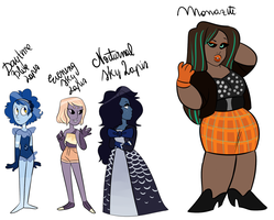Misc Adopts CLOSED by ghostlymoon-adopts