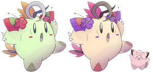Clefairy-Alolan Form