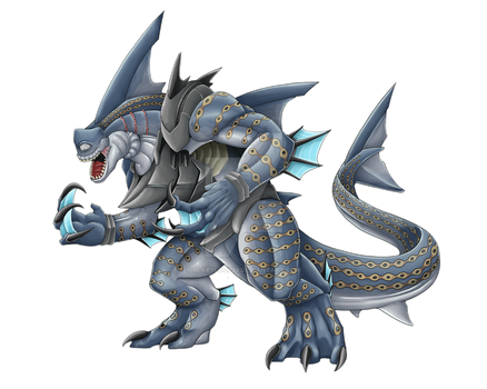 Commission: Sharklopocalypse by Blabyloo229