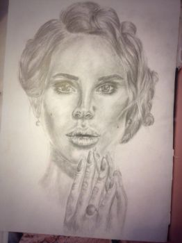 Lana Del Ray by Hidingbehingmywork
