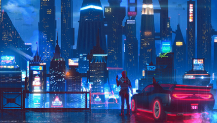 City Glow - Animated by TheFearMaster