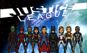 Justice League - 3rd formation (New Earth) by Nova20X