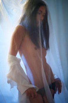 Through the drapes by loveimplied