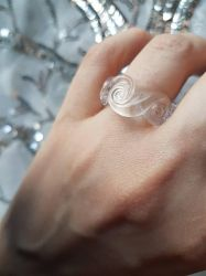 Ring of glass swirls by fairyfrog