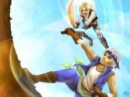 Dissidia Aces R1 vs Vaan by kidokaproject