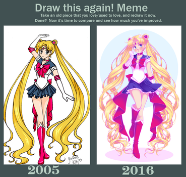 Draw This Again: 2005 v 2016 by Emily-Fay