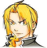 Edward Elric by San-Kuro