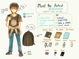 Meet the artist by ciceon