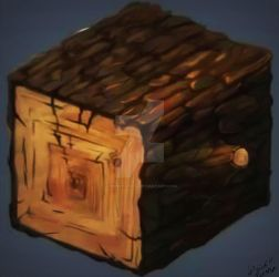 DT10: Wood Texture Study by LordMystirio
