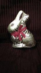 My Golden Chocolate Easter Bunny by Bjnix248