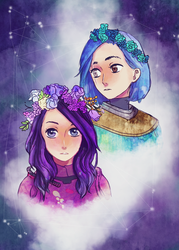 A Tale of two Guardians by 96Sorahime