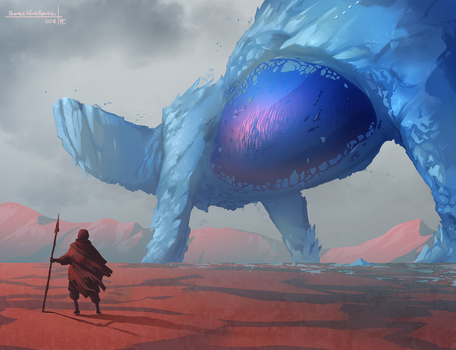 Arctic giant by Thylacinee