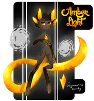Primal Cat - Amber Light by KetLike