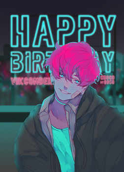 HB for VikConder by choco0950