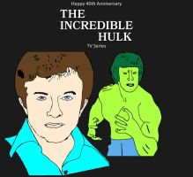 The Incredible Hulk TV Series 40th Anniversary by mrentertainment
