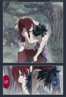 Fairy Tail 242 Gray and Erza by Ornav