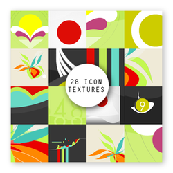 28 icon textures Colorfun by 99mockingbirds