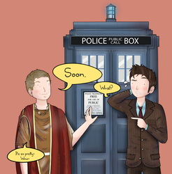 The Tenth and the Twelfth Doctor by ice-cream-skies