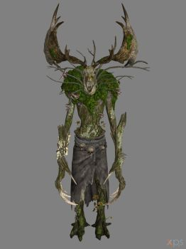 The Witcher 3 - Ancient Leshen for XPS by Fuzzy-Moose