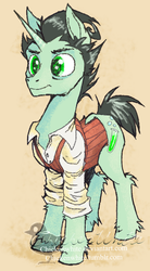 Don't Starve Ponies - Wilson by Chickenwhite
