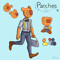 Patches ref by DragonHeartWolf
