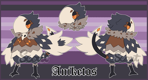 Aniketos Ref by ScoutCritter