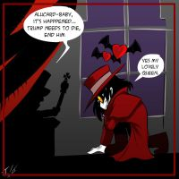 Hellsing kills Trump panel 1 by Foxy-Knight