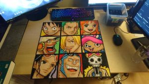 Strawhat Crew mugshots/portraits by MagicPearls