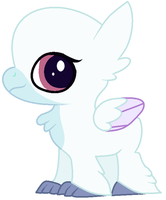Baby Hypogriff Base by K3Elliebear