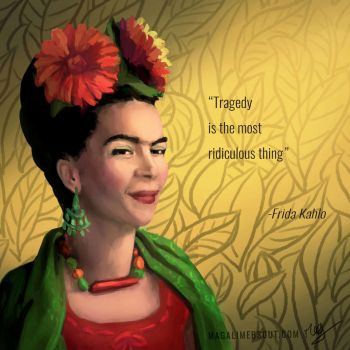 Frida Kahlo by Magali-Mebsout
