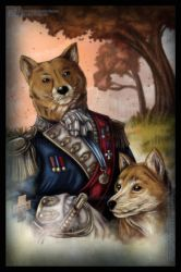 Commission - Old World Doges by HotaruThodt