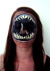 Face painting - Leviathan by larahawker