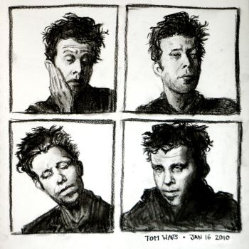 Tom Waits by Crayfish-Dibs