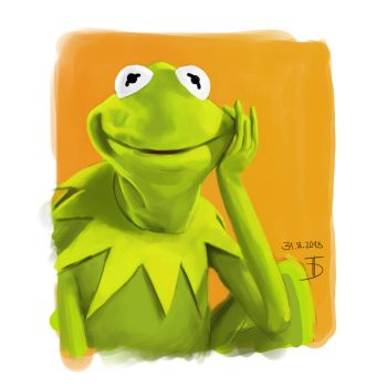 Kermit color study by 0ziRi5