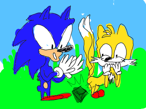 SONIC AND TAILZ by laloremes