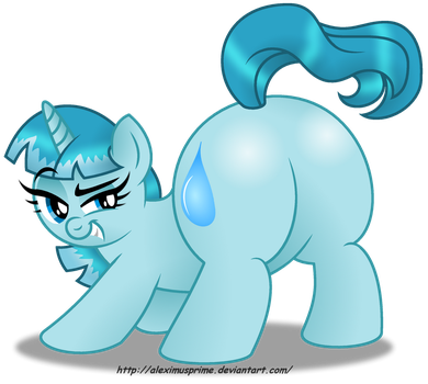 Commission:  Ocean Ripple got booty! by AleximusPrime