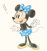Minnie sketch by PukoPop