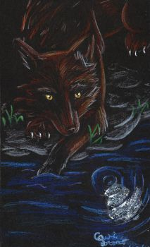 ACEO.::.::By the Water::..::.. by Growlstreak