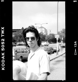 Nick Cave circa 1989 by moon