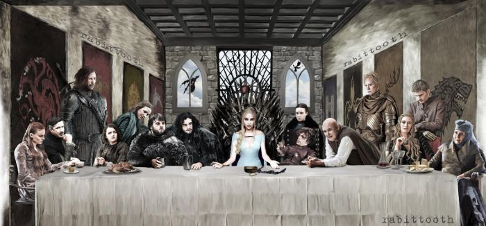 The Last Game (Game of Thrones / DaVinci ) by Rabittooth