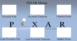 Pixar Controversy Meme Template by tdwinnerfordinner