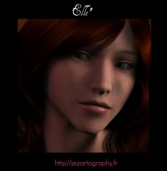 'Elle' jezartography by jeremusic