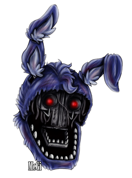 Withered Bonnie :v by MegiW