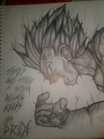Majin Vegeta  by IAmTheUnicornWizard