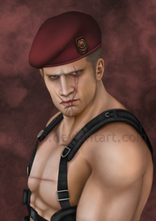 Jack Krauser by FabyLP