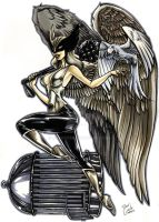 HAWKGIRL by DOCGOOSE