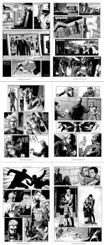 The Death of Batman in 6 pages by AJRPG