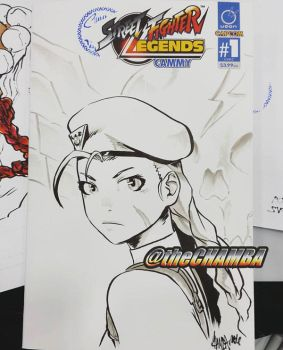SDCC2016 - Cammy 3 by theCHAMBA