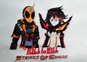 Kill la Kill: Strings of Genesis by SonicHeroXD